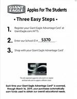 Giant Eagle Fundraiser Flyer