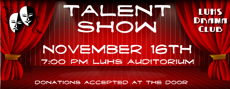 Drama Club Talent Show