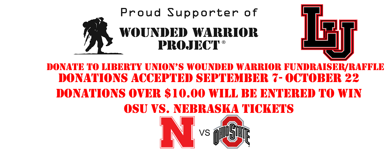 Proud Supporter of the Wounder Warrior Project